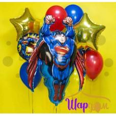 """Гелиевая фигура """"Супермен летящий"""""""