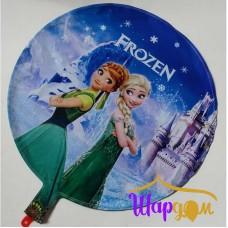 Гелиевый фольгированный круг Холодное сердце (Frozen) 1