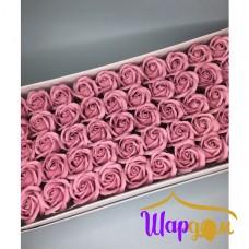 Терракотовые розы из мыла