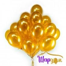Гелиевые шары золото