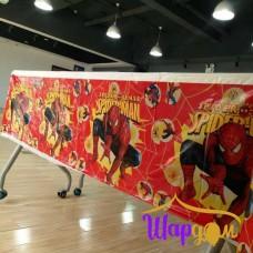 Скатерть Человек паук ( красный фон)