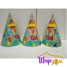 Праздничный колпак Happy Birthday