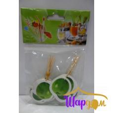 Шпажки для канапе яблоко (зелёное)