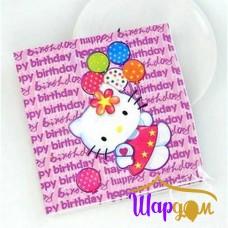 Салфетки Китти (happpy birthday)
