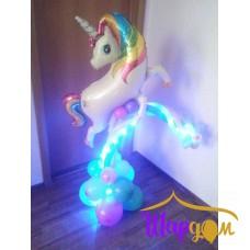 Единорожка на радуге (с подсветкой)