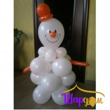 Снеговик веселый
