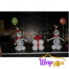Снеговик и подарок